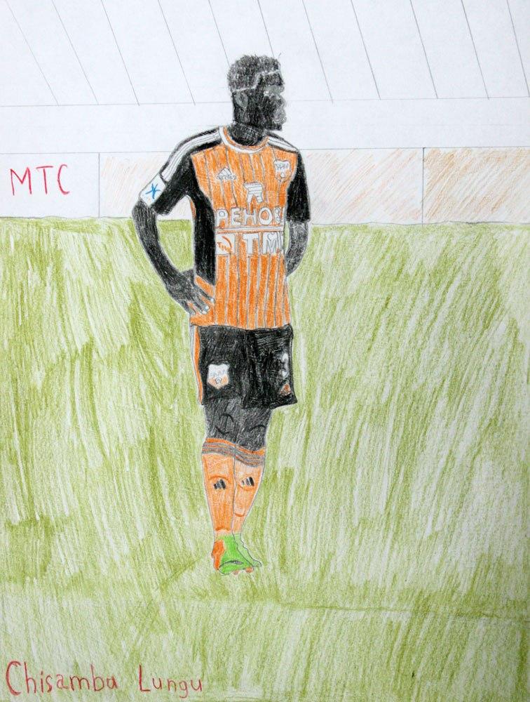 Рисунки про футбол фото - c1771